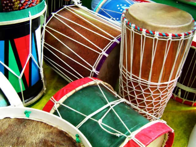 drums from a store