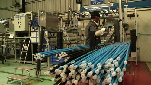 pvc pipe manufacturing process pdf