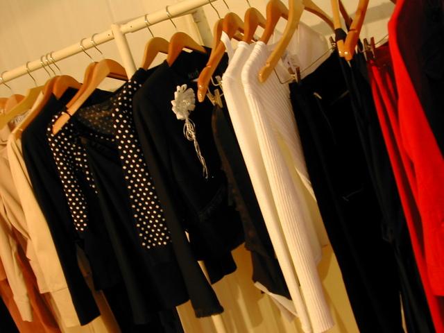 clothes in fashion